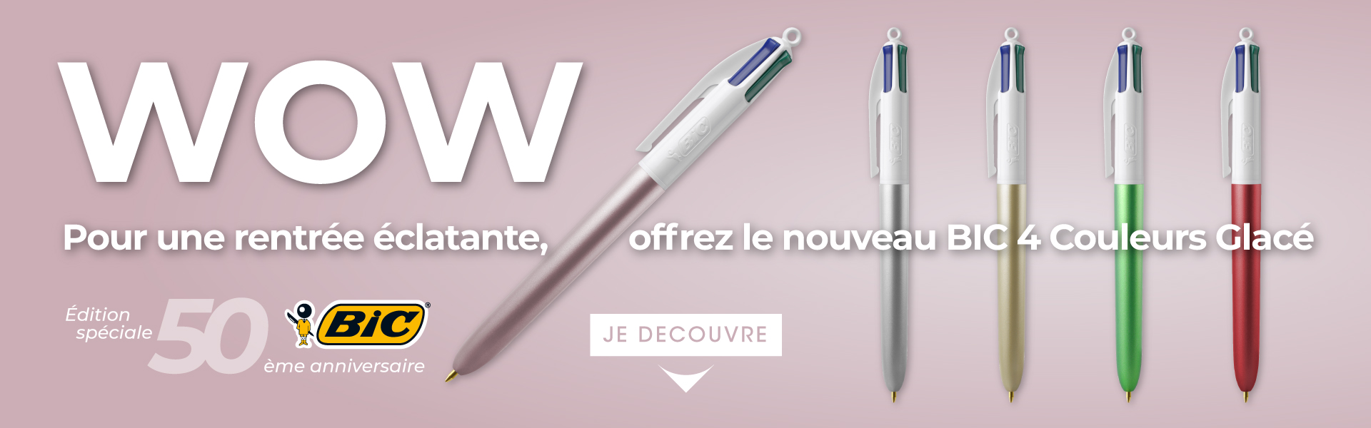BIC® 4 Colours Glacé